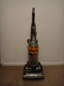 Dyson DC14 Upright Vacuum Cleaner hoover with tools cleaned and ready for use, great suction