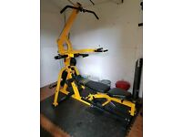Powertech work bench all in one gym