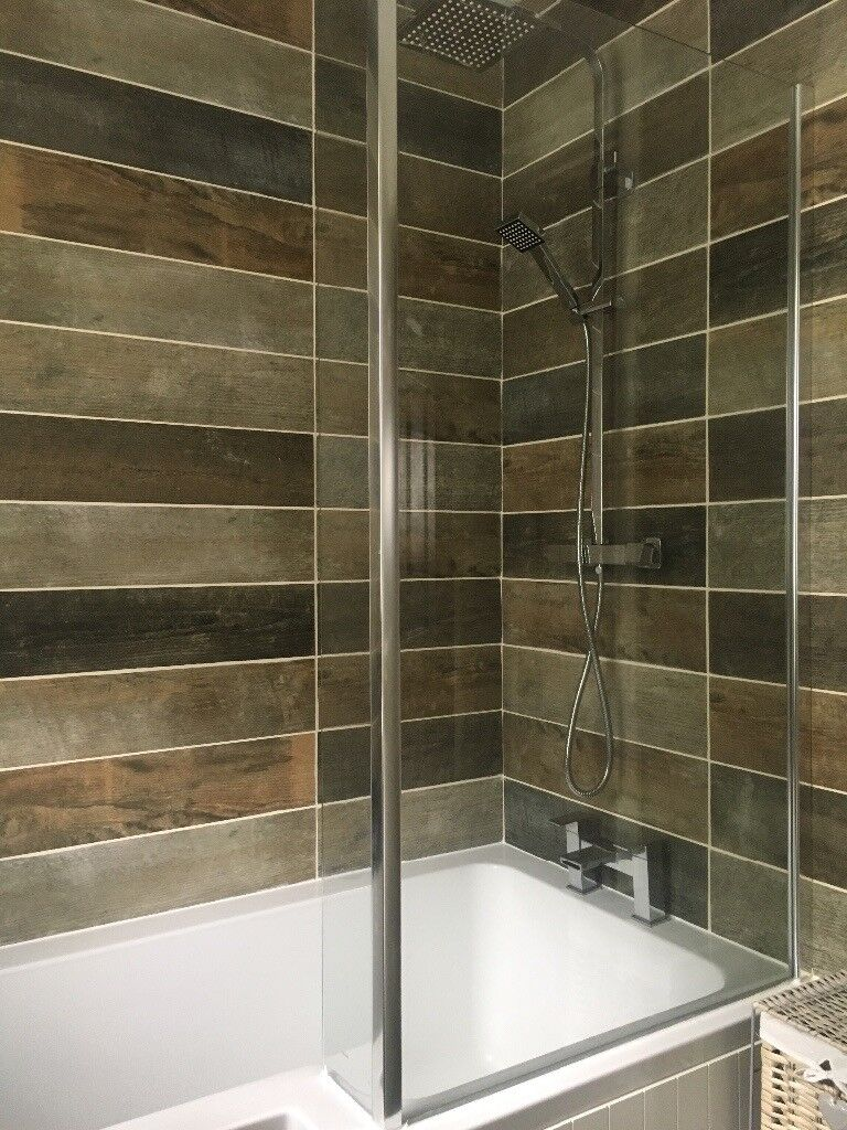 L Shaped Bath Shower Screen | in Stirling | Gumtree
