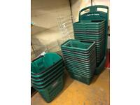 Costcutter baskets and trolley baskets