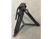 Manfrotto 546GB Pro Video Tripod with Head and Ground Spreader