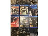 PlayStation 4 1TB + 5 Games