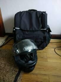 Deemeed motorcycle luggage bag
