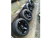 17 inch Rota grid alloys with Toyo proxies tyres