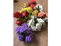 Foam Flowers Crafts Weddings