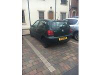 2002 VW Polo. 90,000 mile, 9 months MOT. Reliable little car