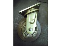VERY LARGE CASTER WHEELS -- CARRY 3000 KG EACH WHEEL TOTAL 18000.