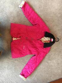 Girls Barbour coat 6-7 years