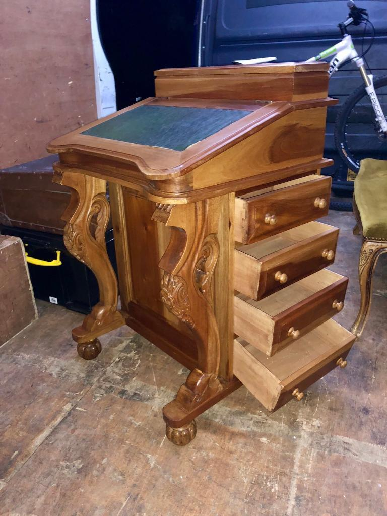 Reproduction Davenport Writing Desk In Caerphilly Gumtree