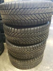 4 winter tires Goodyear 195/60r14