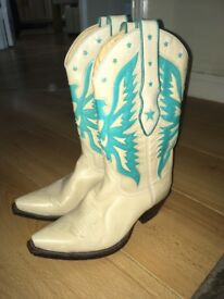 R.Soles by Judy Rothschild Cowboy Boots