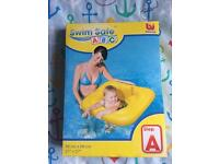 Inflatable swimming chair for babies NEW-Swim Safe ABC