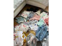 Box of mixed girls/boys clothing