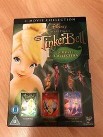 Tinkerbell 3 pack DVD's