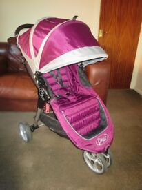 CAN POST SPECIAL EDITION EXC COND BABY JOGGER CITY MINI PUSHCHAIR AWARD WINNING PRAM BUGGY STROLLER