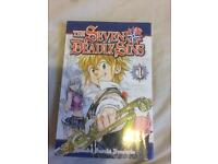 The seven deadly sins volume 1 (£3.50)