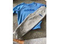 Adidas 2 piece long sleeve set