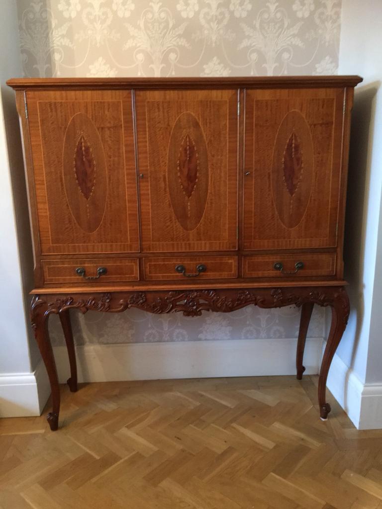 Antique drinks cabinet - Antique Drinks Cabinet In Rhiwbina, Cardiff Gumtree
