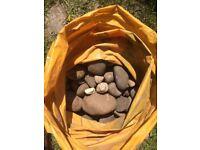 Assorted pebbles / cobble stones