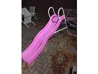 Pink child slide for sale