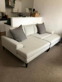French Connection Corner sofa
