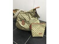 Storksak nappy changing bag for baby