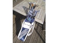Golf Clubs & Carrying Bag