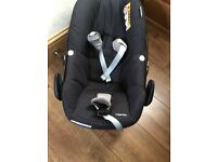 Maxi Cosi Peddle Car Seat 1 year old. Good condition