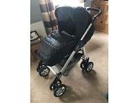 Silvercross buggy and travel system WITH isofix