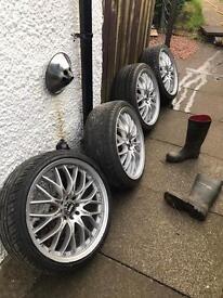 Mini 18inch alloy wheels