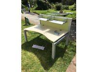 7 x Large Modular Office Desks