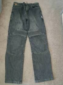 Red Route motorcycle jeans