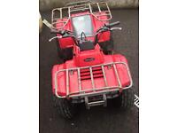 Kawasaki KLF 250 Red