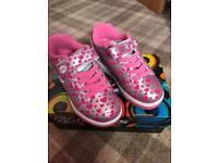 Girls Pink Heelys Size 13 new in box