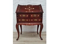 Inlaid Writing Bureau (DELIVERY AVAILABLE FOR THIS ITEM OF FURNITURE)