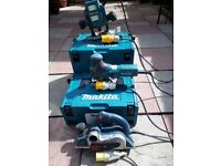 Collection of carpenters power tools 110v