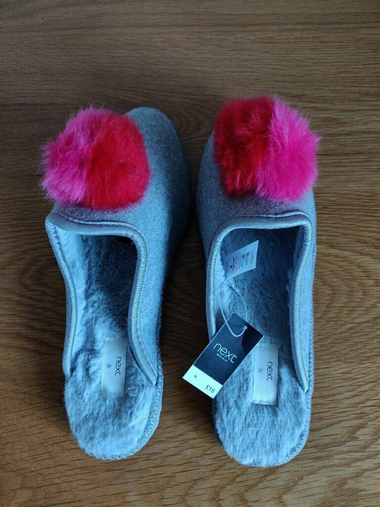 084f2bac1162c Ladies New Next Slippers Size Medium