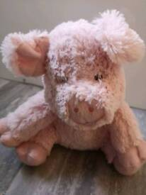 Microwaveable Heat Pig Teddy