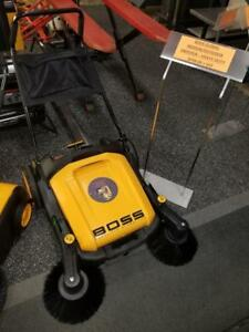 Boss Global Industrial Sweepers - Indoor & Outdoor Use - Starting at $798!