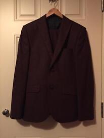 Next Burgundy Suit