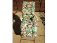 Garden Chair Loungers x 2