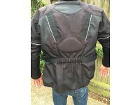 Frank Thomas motorcycle jacket -ladies