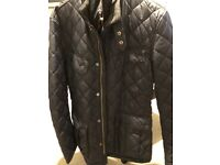 Barbour International Ariel Polarquilt quilted Men's black jacket size: Medium