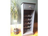 Lovely restored wine rack