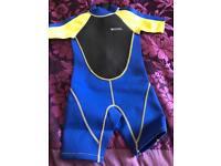Boys' shorty wetsuit age 5-6 Mountain Warehouse