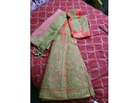Wedding Designer Indian 3 piece wedding outfit