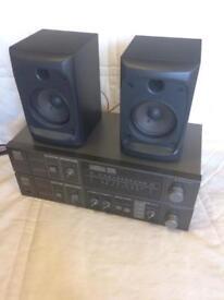 Sanyo JA222 Amplifer + Tuner JT222L VINTAGE