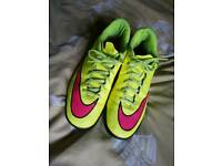 Nick football shoes size 11