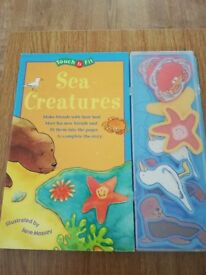 Sea creature book