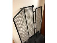 LAND ROVER 4 DOG GUARD LIGHT GUARDS AND REAR LADDER
